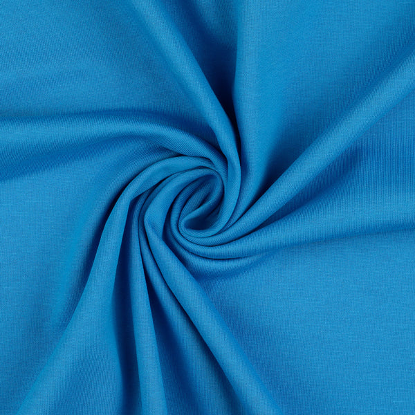 Sweatshirt Fabric, Blue Brushed Back Just £6.00 per Metre!