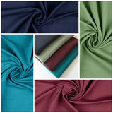 Jersey Fabric Bundle, 4 piece - French Terry