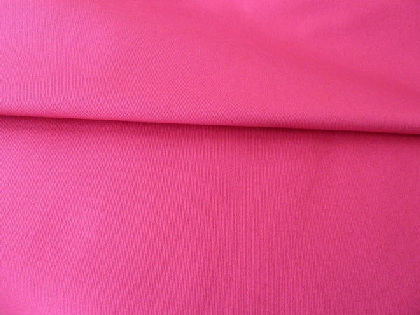 Stretch Cotton Twill Fabric - Magenta