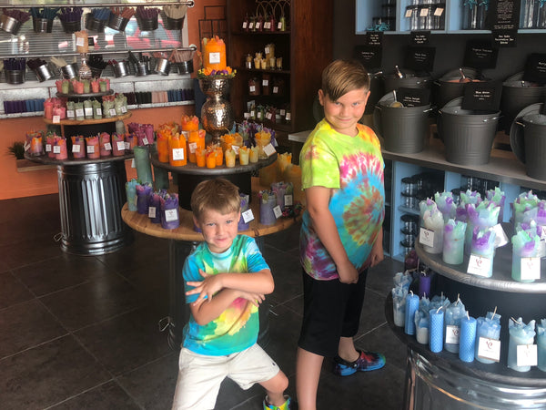 Summer Fun with the Family @ The Candle Shop