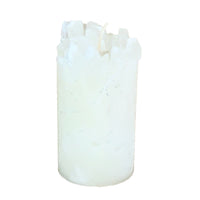 White Scented Pillar Candle (Blizzard)