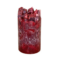 Burgundy Scented Pillar Candle (Cranberry Craze)