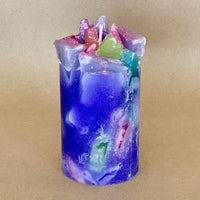 Luscious Lavender Scented Pillar Candle