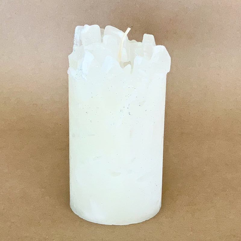 Blizzard Spruce Scented Pillar Candle
