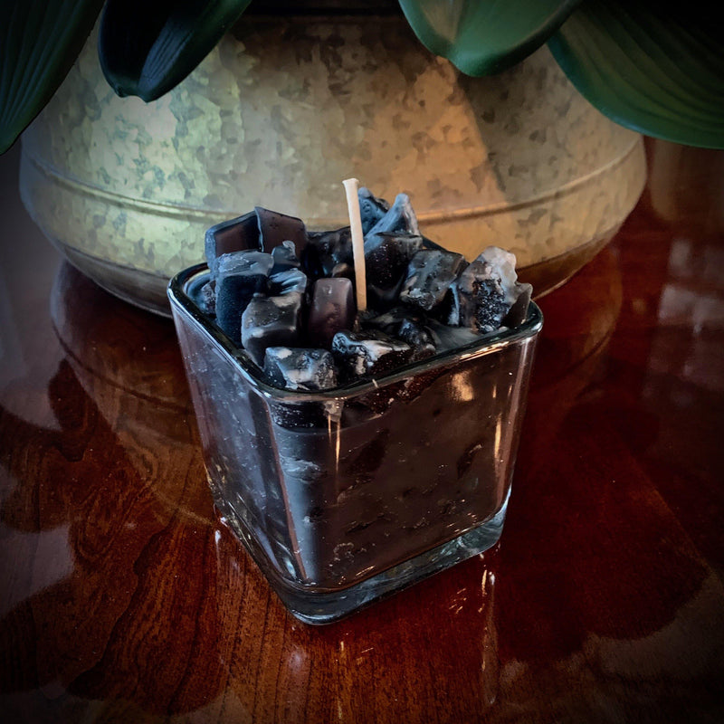 Black Soy Scented Candle (Midnight Dreams)