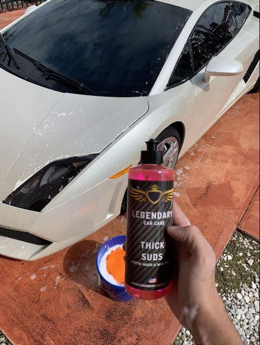 THICK SUDS WASH & WAX SOAP - Madcowus Car Care Products