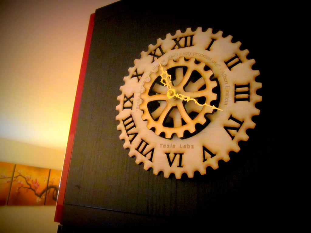 Cog Wall Clock - ZenScape