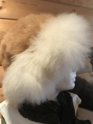 100% alpaca fur hat