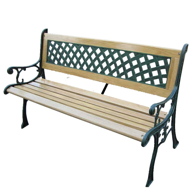 garden bench outdoor chair in los angeles wood and metal