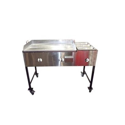 Flat Grills Steamers Taco Carts Uses Propane gas