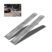 Steel Loading Ramps 1000 LBS Capacity 72 inches long 2 piece set