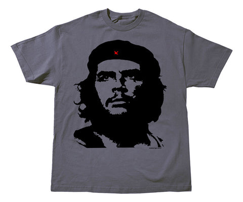 Che Guevara Guerrillero Heroico short-sleeve charcoal grey T-shirt