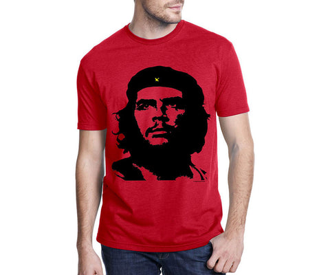 Che Guevara Guerrillero Heroico short-sleeve red T-shirt