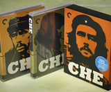 Che Guevara director-approved Criterion Collector's special edtion Blu-ray disc films, The Argentine (Part 1) and Guerrilla (Part 2), starring Benicio Del Toro, Julia Ormond, and Carlos Bardian, and directed Steven Soderbergh
