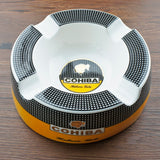 "Large Cohiba Cigar Ashtray 8"" Round for Patio/Outside/Indoor - Free Shipping"