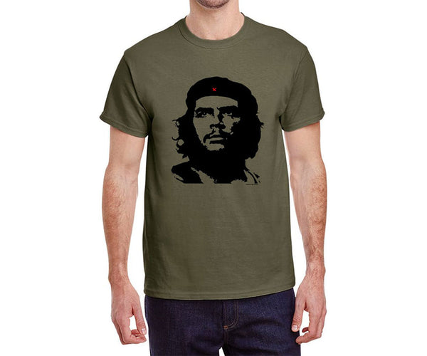 Che Guevara Guerrillero Heroico short-sleeve olive green T-shirt
