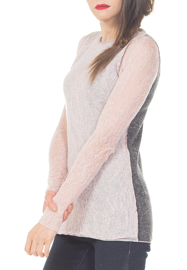 LONG SLEEVE CREW NECK - PTJ TREND: Women's Designer Clothing