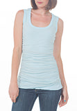 RUCHED TANK - PTJ TREND: Women's Designer Clothing