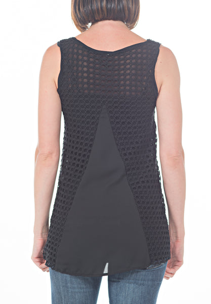 MY CROCHET TANK - PTJ TREND: Women's Designer Clothing