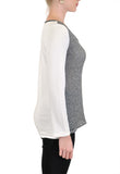 LONG SLEEVE V NECK MESH SLEEVES