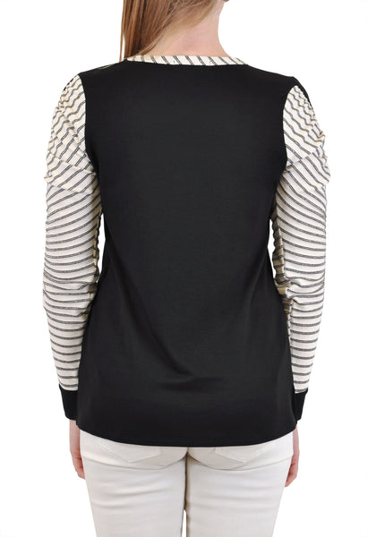 LONG SLEEVE RUCHED SLEEVE