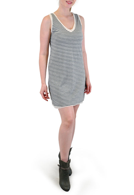 FRONT STRIPE DRESS
