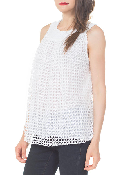 YOKE TANK TOP - PTJ TREND: Women's Designer Clothing