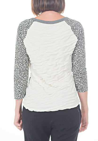 FALL RAGLAN TEE - PTJ TREND: Women's Designer Clothing