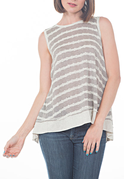 BACK OVERLAP TANK TOP