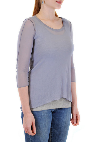 ASYMMETRICAL LAYERED TOP