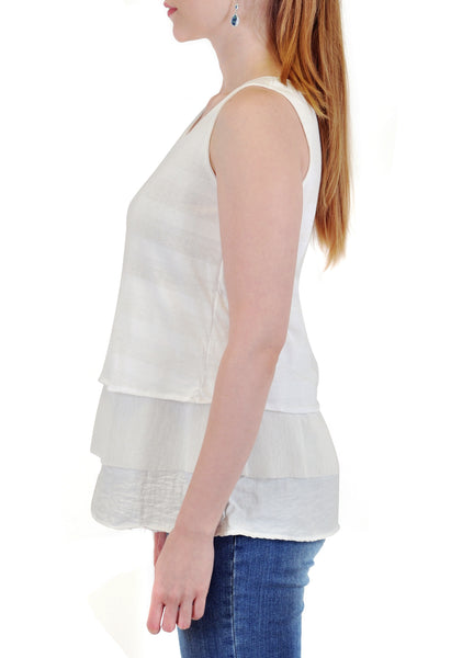 3-LAYERED A-LINE TANK TOP