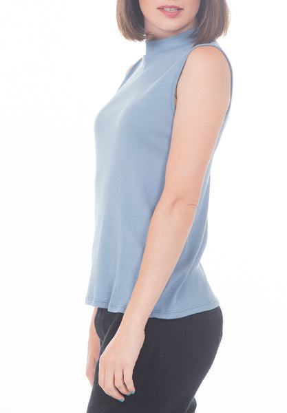 HIGH NECK TANK - PTJ TREND: Women's Designer Clothing