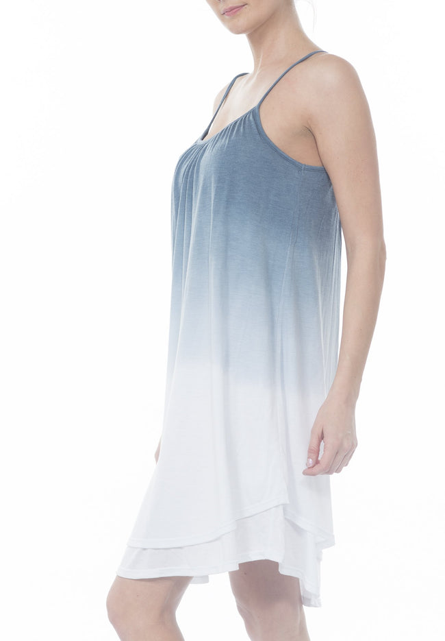 DIP DYE  LOOSE DRESS - PTJ TREND: Women's Designer Clothing