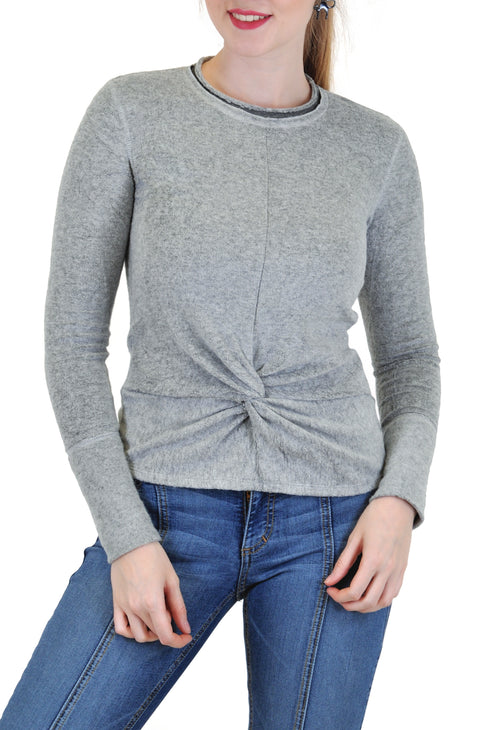 LONG SLEEVE SHERPA TWISTED FRONT