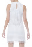 MOCK CROCHET DRESS - PTJ TREND: Women's Designer Clothing