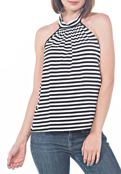 HALTER TOP - PTJ TREND: Women's Designer Clothing