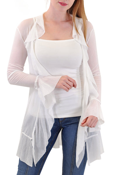 CASCADE LONG SLEEVE DUSTER