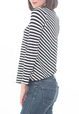 STRIPED TOP - PTJ TREND: Women's Designer Clothing