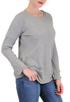 LONG SLEEVE THERMAL TOP BUTTONS ACCENT