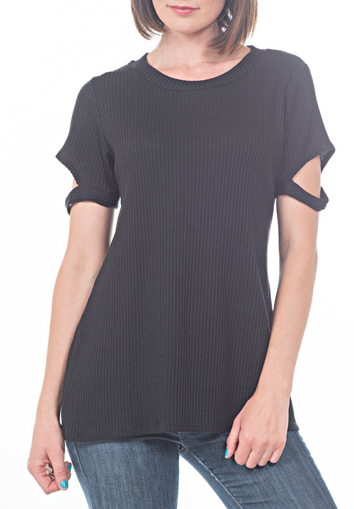 SS THERMAL TOP - PTJ TREND: Women's Designer Clothing