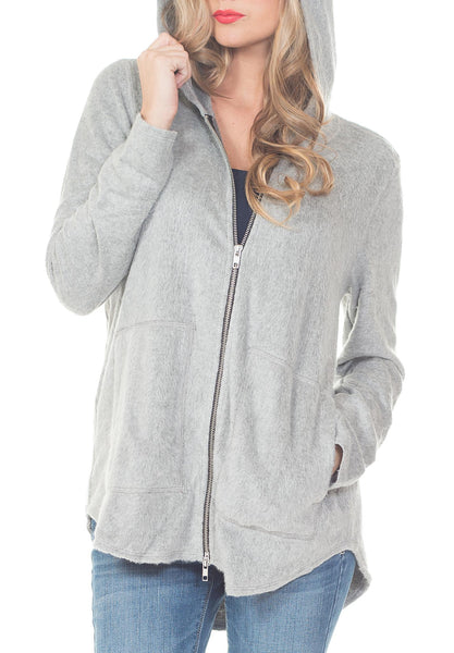 HOODIE SWEATER WITH ZIPPER