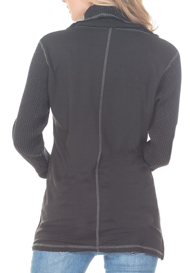 JACKET WITH FRONT ZIPPER - PTJ TREND: Women's Designer Clothing