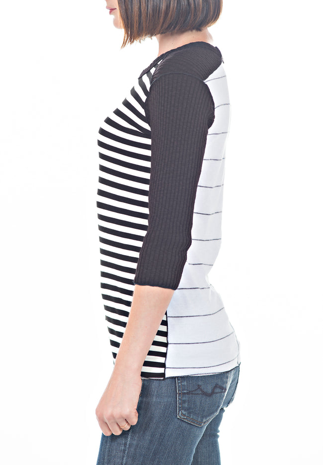 STRIPED TEE - PTJ TREND: Women's Designer Clothing