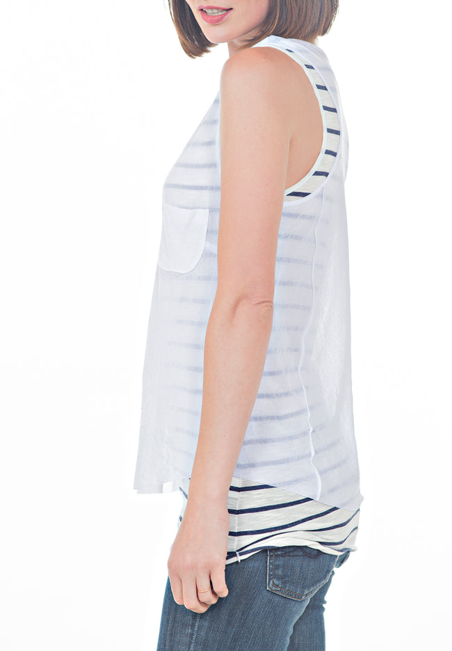 RACERBACK TOP - PTJ TREND: Women's Designer Clothing