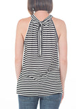 SLVLESS STRIPED TOP - PTJ TREND: Women's Designer Clothing