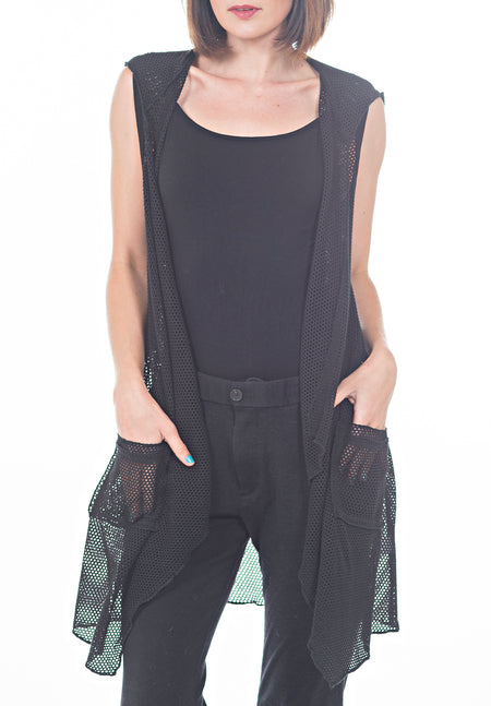SLEEVELESS JUMP SUIT WITH BACK KEYHOLE