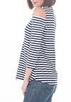 COLD SHOULDER TEE - PTJ TREND: Women's Designer Clothing