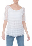 CROCHET TOP - PTJ TREND: Women's Designer Clothing