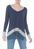 MY LOOSE VNECK TOP - PTJ TREND: Women's Designer Clothing
