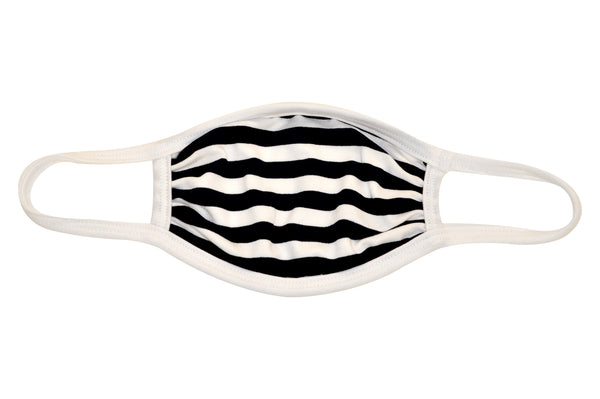 Stripe mask with Filter pocket with color variety